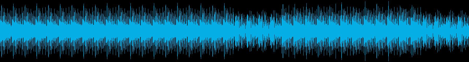 ハウス・ニュース・報道番組・ゲームの再生済みの波形