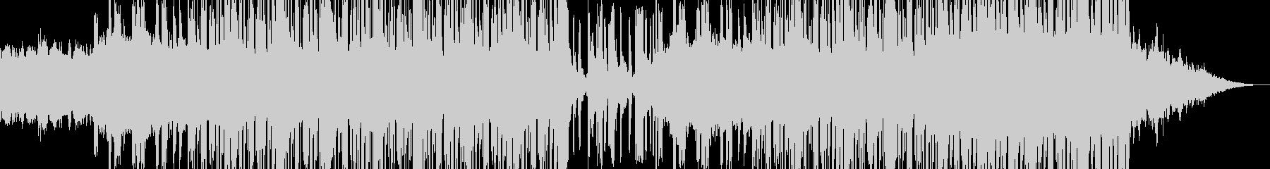 ピアノとシンセで切ないヒップホップにの未再生の波形