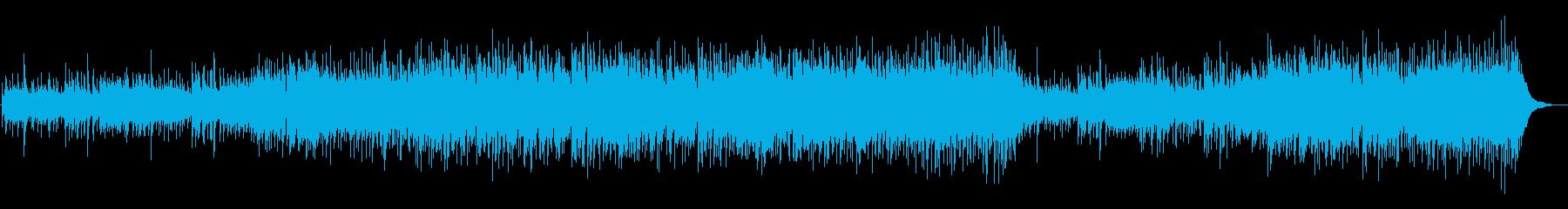ノスタルジックでシンプルに美しい音楽の再生済みの波形