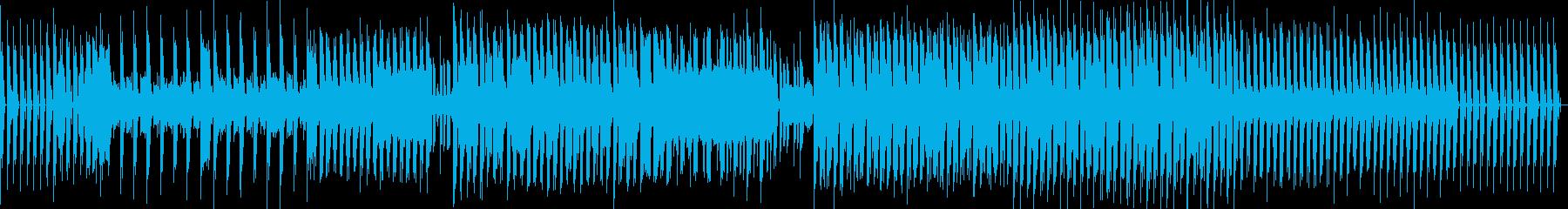 テクノ。フィルターシンセ。の再生済みの波形