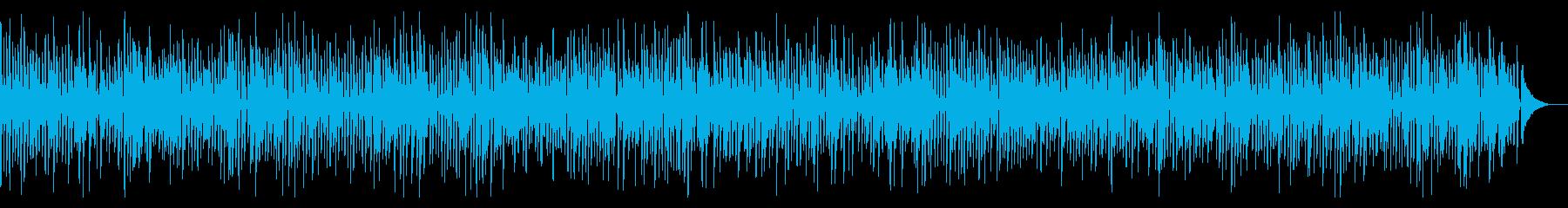 こぶたのうた風レトロかわいいジャズピアノの再生済みの波形
