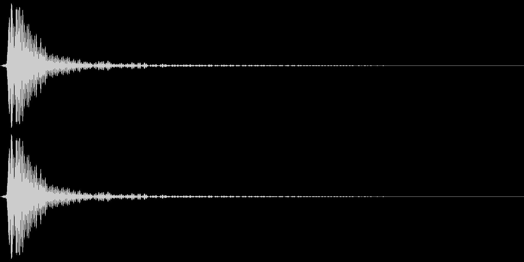 ホリーコルクポップ、フォリーの未再生の波形