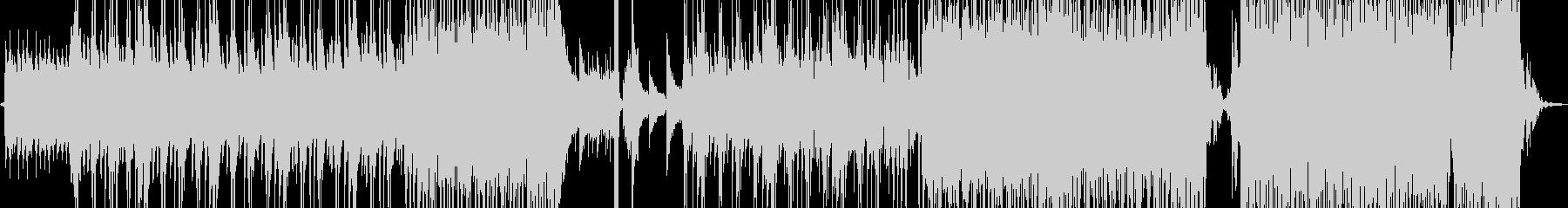 淡々と刻むピアノのR&Bの未再生の波形
