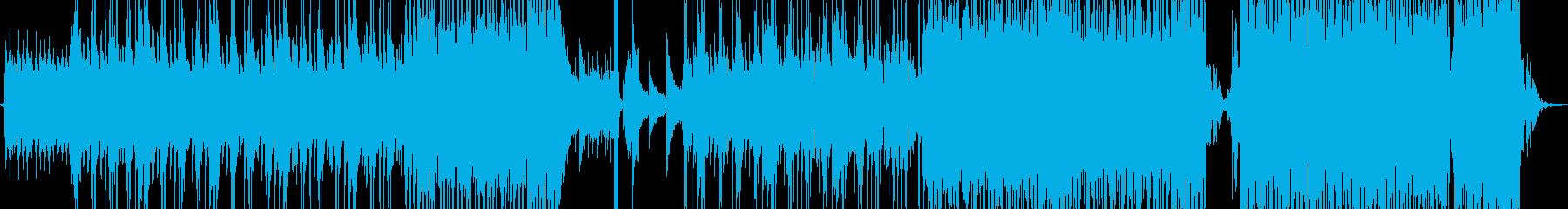 淡々と刻むピアノのR&Bの再生済みの波形