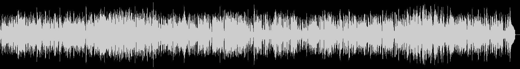 サックスのゆったりとしたスムースジャズの未再生の波形