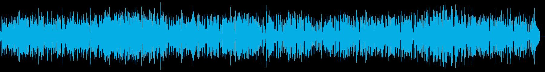 サックスのゆったりとしたスムースジャズの再生済みの波形