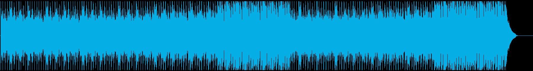 企業VPに 幻想的・感動 ピアノメインの再生済みの波形