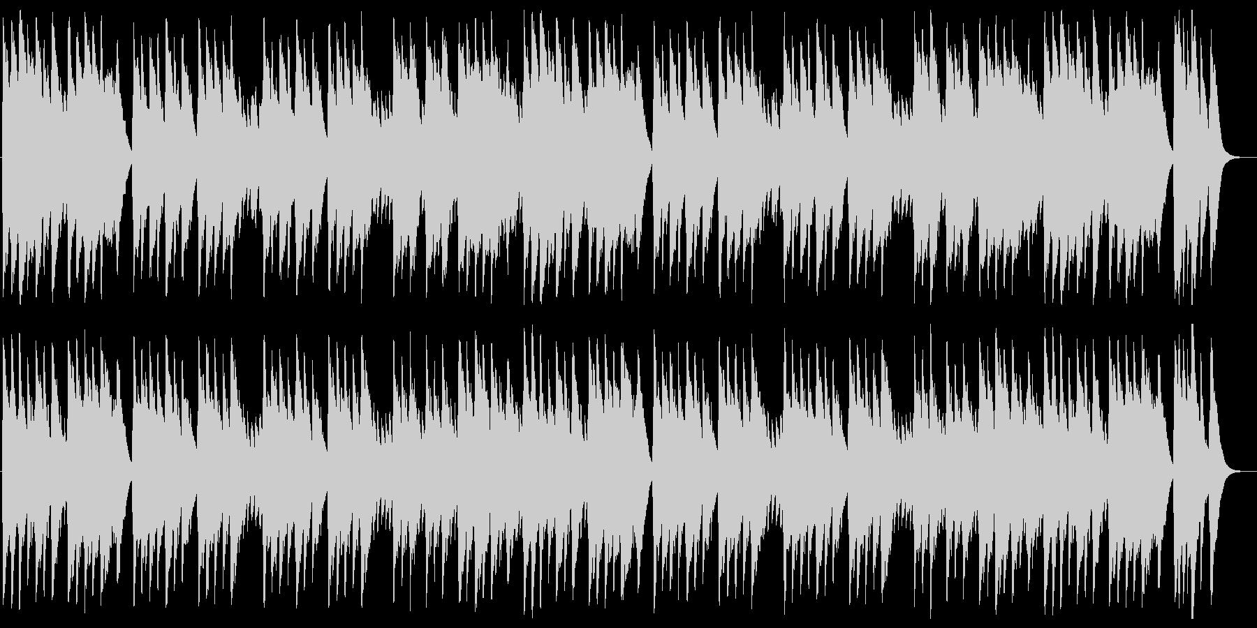 オーラ・リー(ラブ・ミー・テンダー)の未再生の波形
