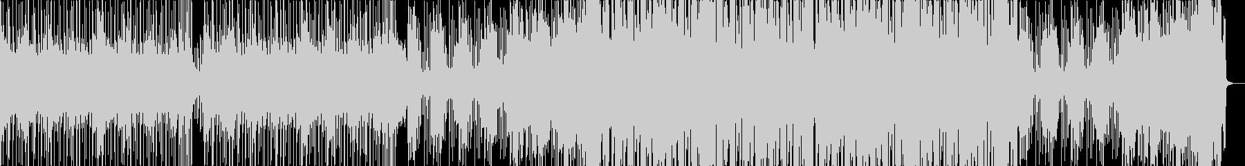 暗めなドラムンベースの未再生の波形