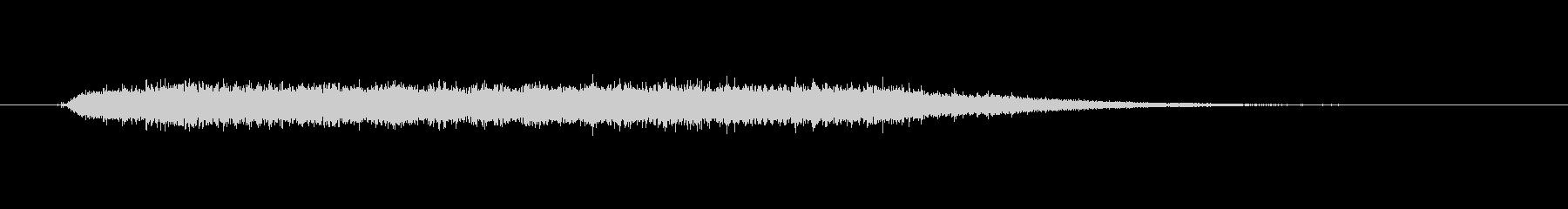 工具_ドリルの動作音7の未再生の波形