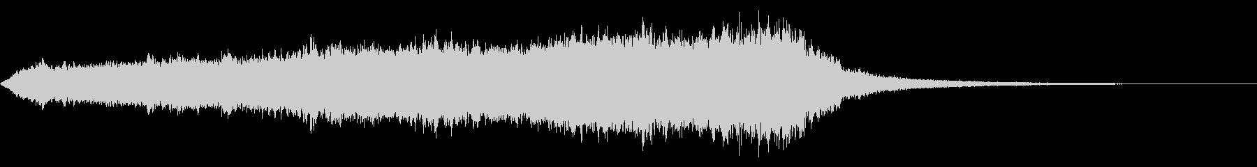 CINEMATIC RISER_19の未再生の波形