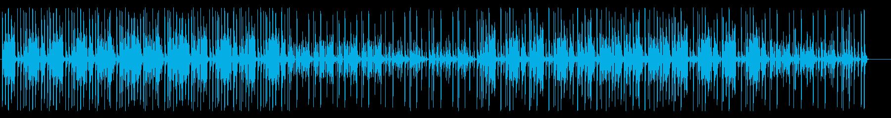 ムーディーでレゲエのインストゥルメ...の再生済みの波形