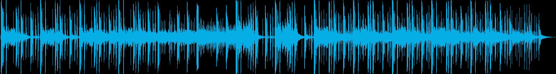PV】浮遊感?不思議でコミカルなBGMの再生済みの波形