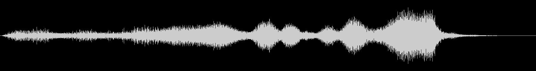 パッド ダークテンプル01の未再生の波形