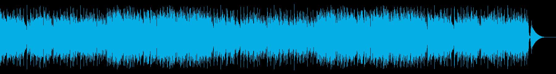 哀愁あふれるアコーディオンワルツの再生済みの波形