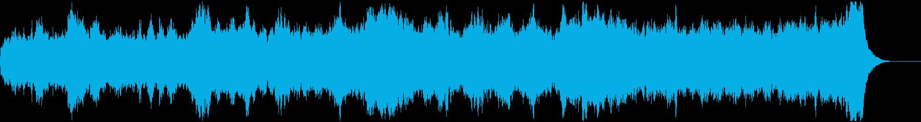 パイプオルガンの前奏曲 バッハ風の再生済みの波形