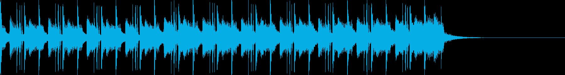 和風 琴 忍者 城下 温泉 テクノポップの再生済みの波形