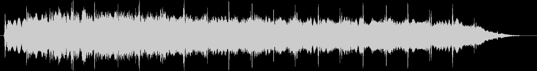ピューン:異次元へワープする音2の未再生の波形