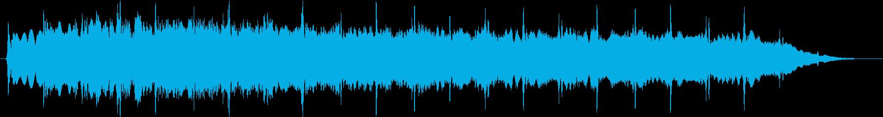 ピューン:異次元へワープする音2の再生済みの波形