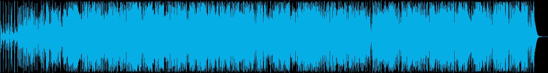 明るくゆったりトランペットシンセサウンドの再生済みの波形