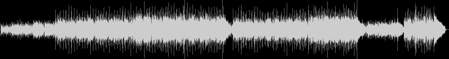 メロディックなスローバラードの未再生の波形