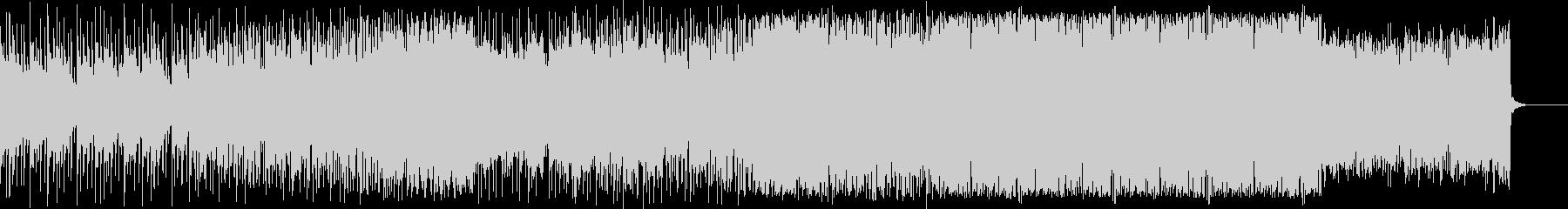 疾走感のあるローファイビート(低音)の未再生の波形