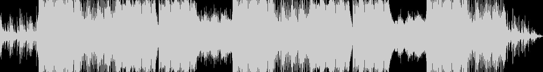 幻想的でエモーショナルなピアノトラップの未再生の波形