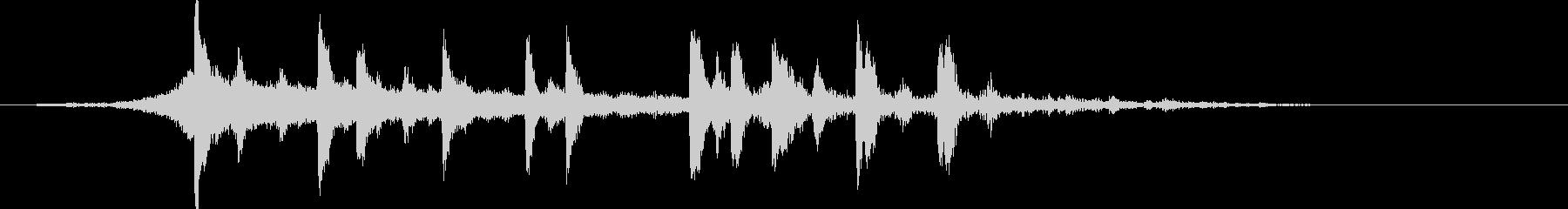 企業 ジングル サウンドロゴの未再生の波形