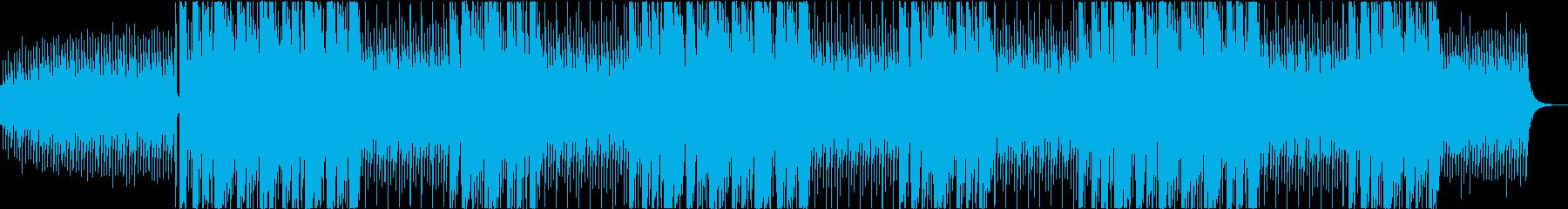 ギャングスタ系トラップビートの再生済みの波形
