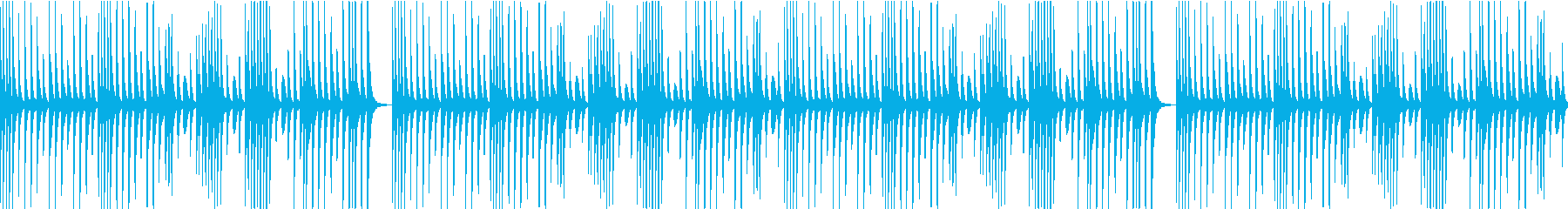 ループ・穏やか・ほのぼの・日常・マリンバの再生済みの波形