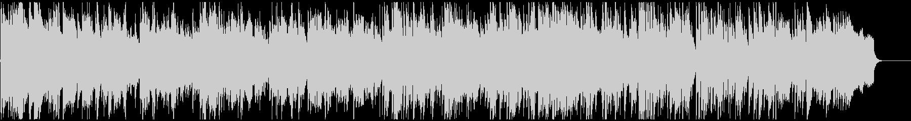 穏やかな低音メロディの落ち着いたボサノバの未再生の波形