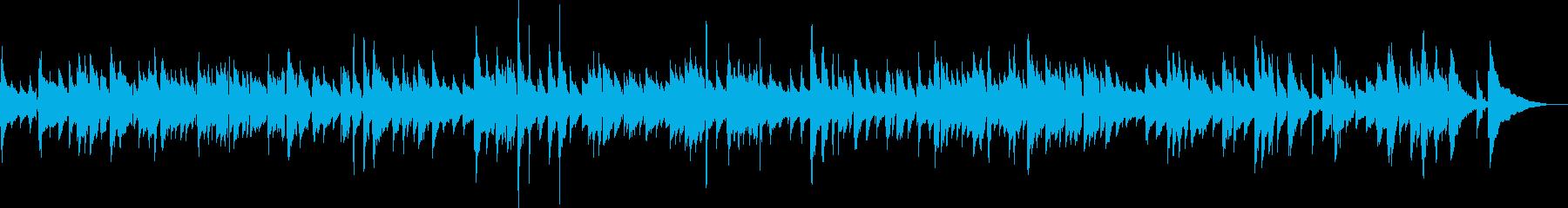 生ギター G線上のアリアの再生済みの波形
