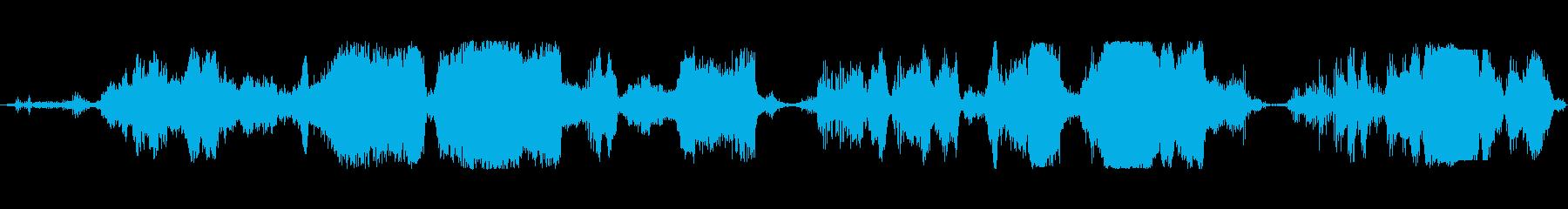 豚 群れスクリームロング02の再生済みの波形