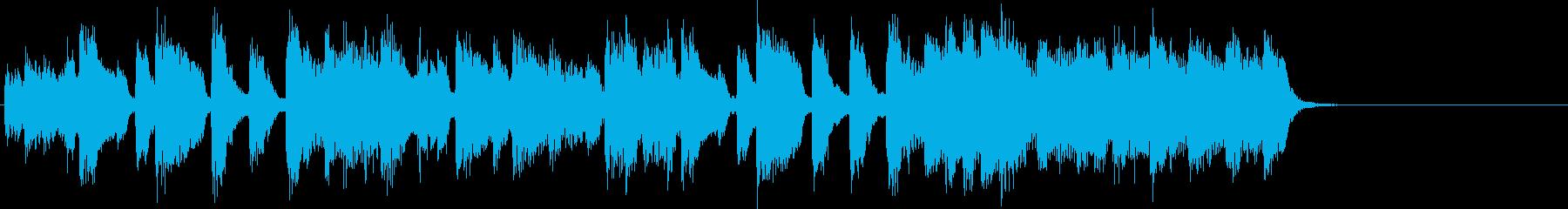 アイドルをイメージしたジングル 8小節Aの再生済みの波形