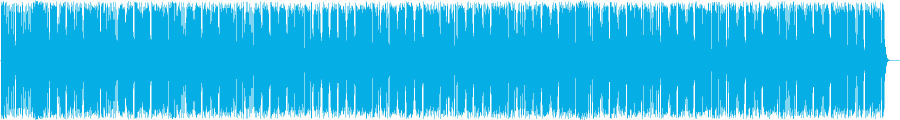 エレクトリックギターのポップスの再生済みの波形