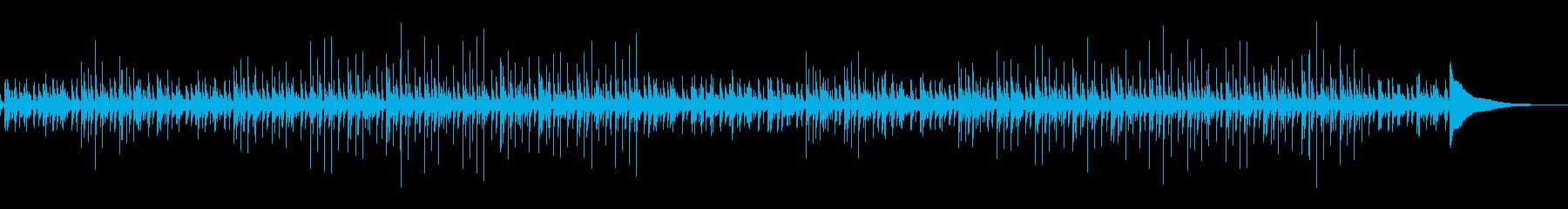 アコギによるライフスタイルや成長映像等の再生済みの波形