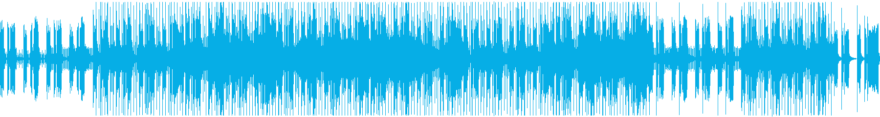 80's王道ハードロック風ギターリフの再生済みの波形