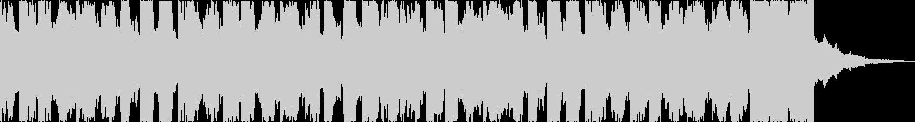 チルアウト幻想的なトロピカルハウスdの未再生の波形