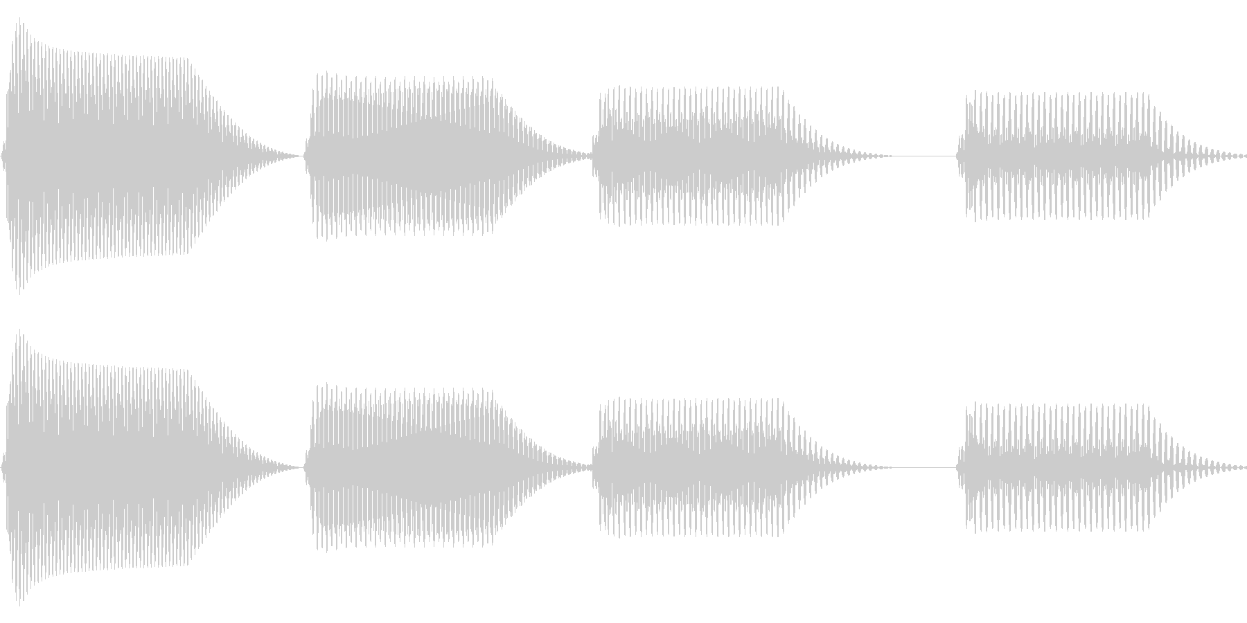 往年のRPG風 コマンド音 シリーズ15の未再生の波形