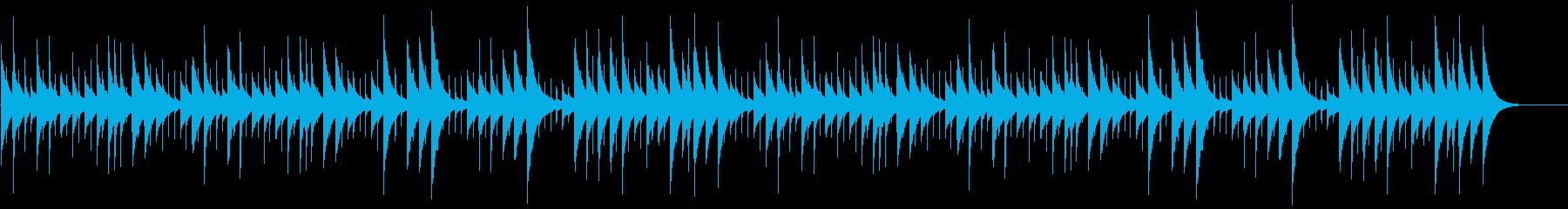 フランスのXmasキャロル【オルゴール】の再生済みの波形