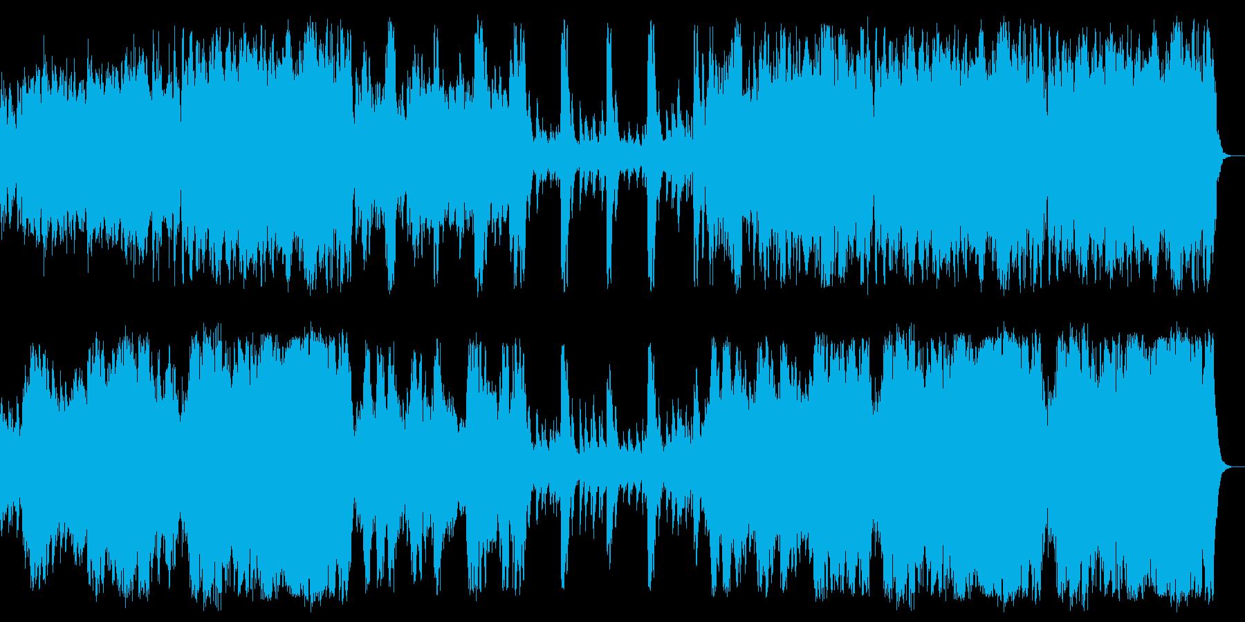 やや暗いオーケストラの角。奇妙な、...の再生済みの波形