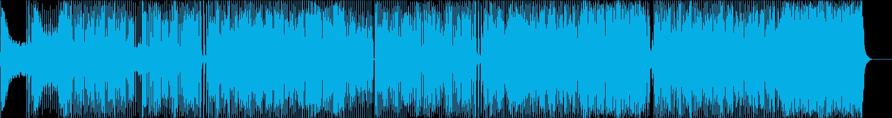 フィナーレを感じさせるインストBGMの再生済みの波形