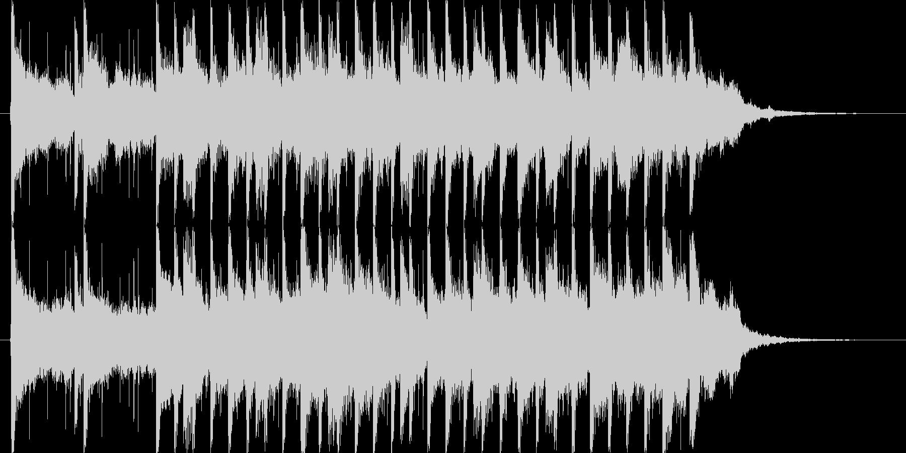 ピアノとストリングスをメインとした。爽…の未再生の波形