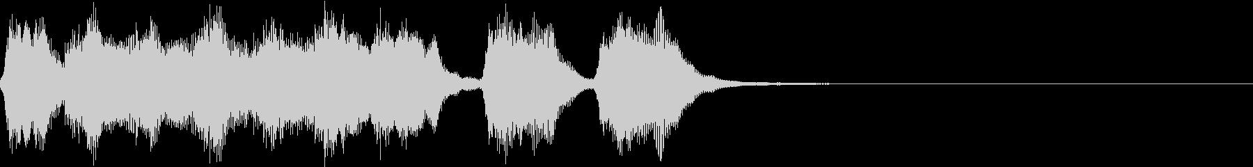 シンプル トランペット ファンファーレMの未再生の波形