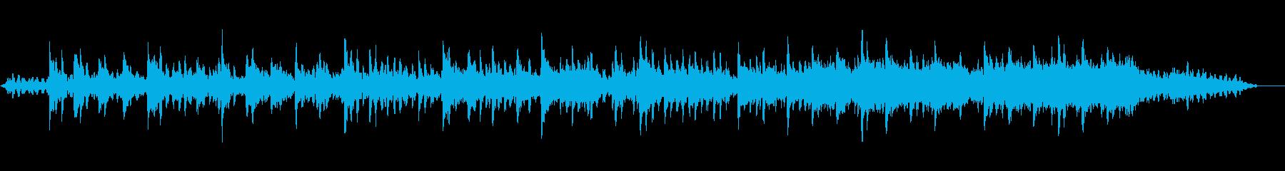リラックスしたい時のピアノ曲ソルフィジオの再生済みの波形