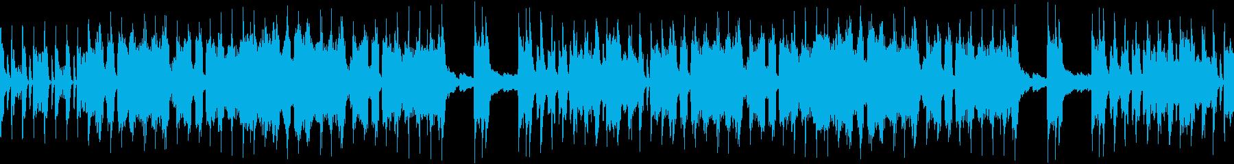 ファニーな場面でニヤニヤ出来る行進曲の再生済みの波形