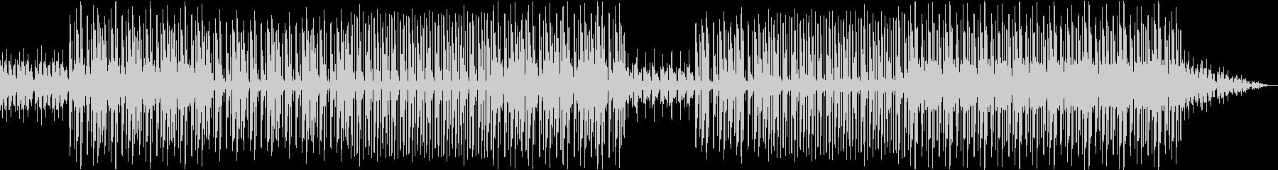 印象的なトランペットのヒップホップビートの未再生の波形