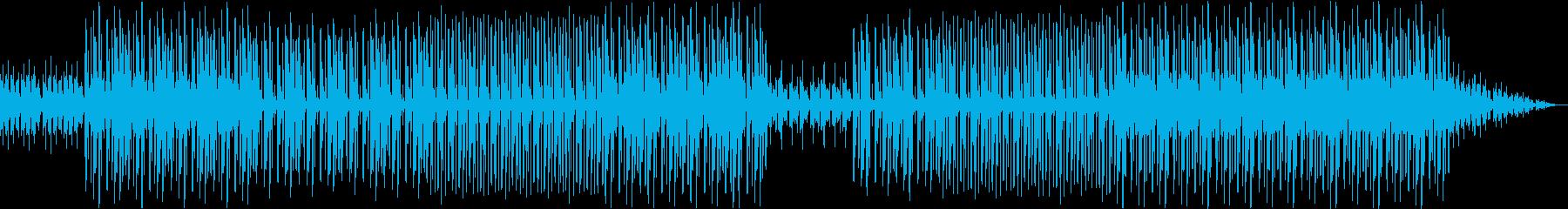 印象的なトランペットのヒップホップビートの再生済みの波形
