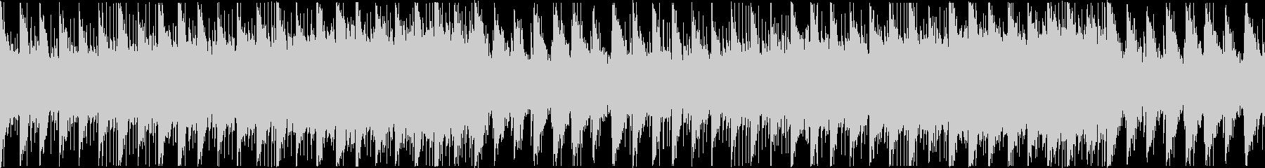 POPS風の優しいBGMの未再生の波形
