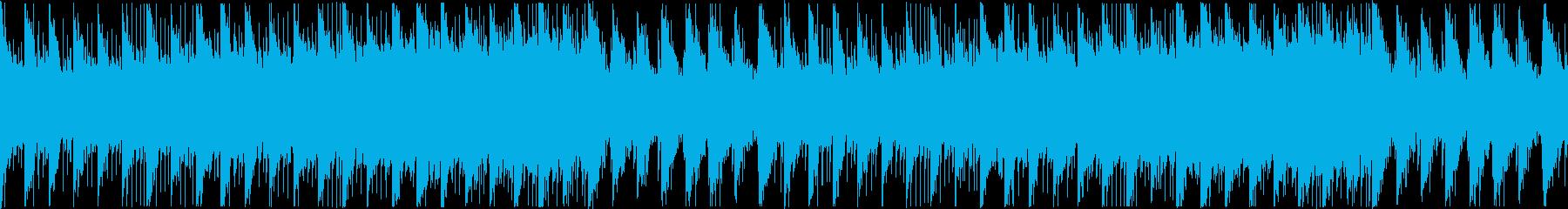 POPS風の優しいBGMの再生済みの波形